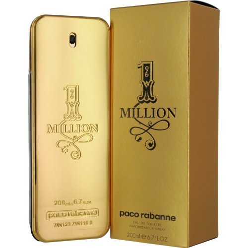 1 Million by Paco Rabanne for Men – 6.7 Ounce EDT Spray
