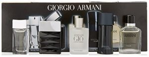 Giorgio Armani Mini Attitude 5 Piece Gift Set for Men
