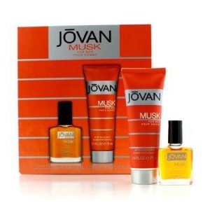 Jovan Musk for Men-2 Pc. Gift Set-After Shave & After Shave Balm