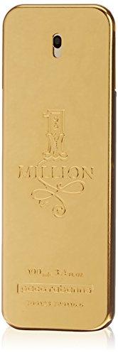 Paco Rabanne 1 Million Eau de Toilette Spray for Men, 3.4 Fluid Ounce