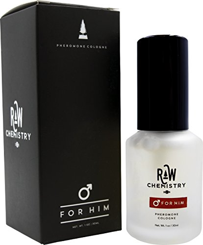 Pheromones For Men Pheromone Cologne [Attract Women] – Bold, Extra Strength Human Pheromones Formula by RawChemistry – 1 Fl Oz (Human Grade Pheromones to Attract Women)