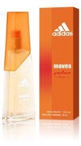 Moves Pulse for Her Eau-De-Toilette Spray by Adidas, 0.5 Fluid Ounce