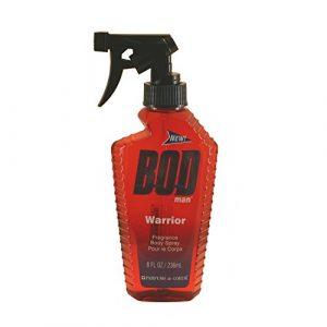 Parfums de Coeur Bod Man Warrior Fragrance Body Spray for Men, 8 Ounce