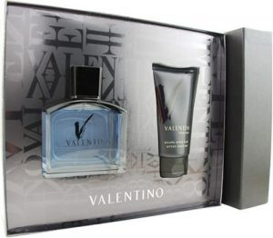 Valentino V by Valentino For Men. Set-edt Spray 3.3-Ounces & Aftershave Balm 2.5-Ounces