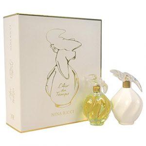 Nina Ricci L'air Du Temps Eau de Toilette Spray Gift Set for Women, 2 Count