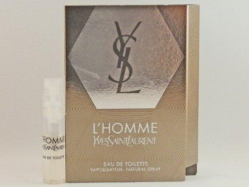YSL YVES SAINT LAURENT L'HOMME 1.5ml .05fl oz x 1 COLOGNE SPRAY Good Product quality!!
