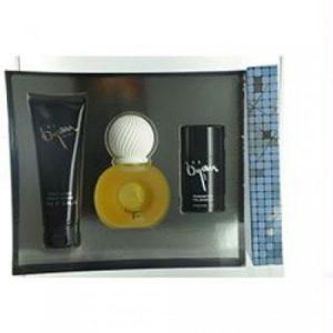 Bijan by Bijan for Men 3 Piece Set Includes: 2.5 oz Eau de Toilette Spray + 3.3 oz After Shave Balm + 3.3 oz Deodorant Stick
