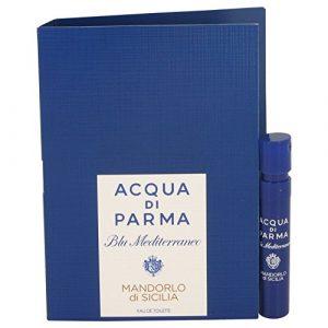 MANDORLO DI SICILIA by Acqua di Parma Eau de Toilette 1.2ml-0.04 oz Sampler Vial Spray. New in Card