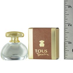 TOUS TOUCH by Tous for WOMEN: EDT .13 OZ MINI (note* minis approximately 1-2 inches in height)