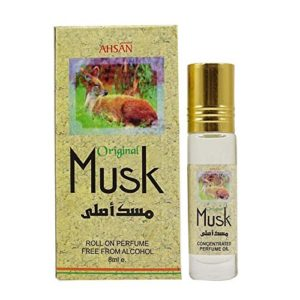 Ahsan Original Musk Natural Fragrance Roll On Perfume – 8 ml