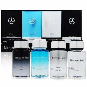 Mercedes Benz Eau de Toilette 4-Piece Set for Men