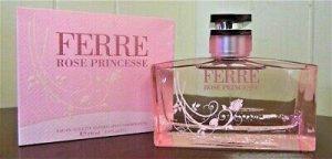 Ferre Rose Princesse Perfume for Women by Gianfranco Ferre Eau De Toilette Spray 3.4 oz