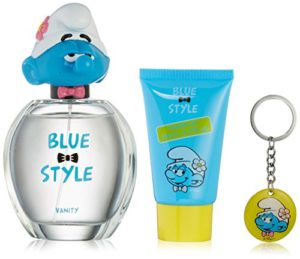 First American Brands The Smurfs Blue Style Vanity Gift Set, 3 Count