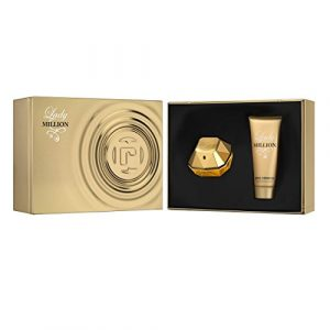 PACO RABANNE Lady Million Gift Set: EDP spray 2.7 oz+ Body Lotion 3.4 oz