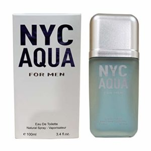 J&H NCY AUQA Men, Perfume Eau de Parfum Spray Fragrance for Men, Perfect Gift, Invigorating Scent, for all Skin Types,a Classic Bottle, 3.4 Fluid Ounce