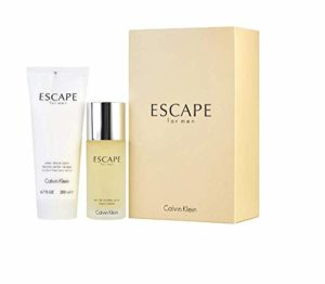 c k Escape Men EDT spray 3.4 OZ / 100 ML oz & Aftershave Balm 6.7 OZ / 200 ML