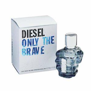 Diesel Only the Brave Eau De Toilette Spray for Men, 1.1 Ounce