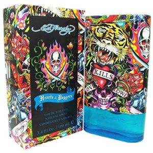 Ed Hardy Hearts and Daggers for Men, Men's Cologne Spray 3.4 oz