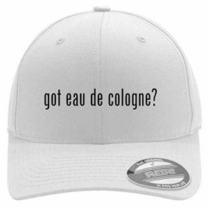got eau de Cologne? – Men's Soft & Comfortable Flexfit Baseball Hat, White, Small/Medium