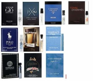 HCY's Selection: 10 Designer Fragrances Cologne Samples For Men Good For Gifts and Event