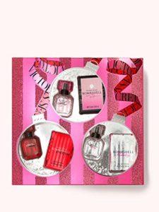 Victoria's Secret Bombshell Eau de Parfum 3-Piece Mini Spray Set for Women (Bombshell, Bombshell Intense, Bombshell Holiday)