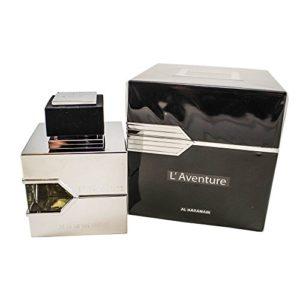 Al Haramain L'Aventure Eau de Parfum For Men, 3.33 Ounce (100 ml) – For Creed Aventus Lovers