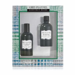 Grey Flannel by Geoffrey Beene for Men – 2 Pc Gift Set 4oz EDT Spray, 4oz After Shave Lotion
