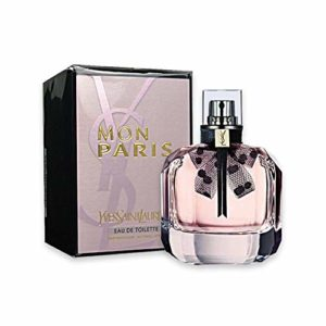 Mon Paris by Yves Saint Laurent for Women Eau de Toilette Spray 90 ml/ 3.00 Ounce