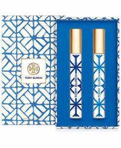 Tory Burch Eau de Parfum Rollerball 2 Piece Set for Women (Bel Azur Eau de Parfum + Nuit Azur Eau de Parfum)