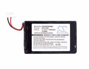 Cameron Sino 3.7V/800mA 6107-040 Replacement Battery for Rainin EDP3,EDP3 Plus,EDP3 Plus pipettes,Pipette 20-200uL,Pipette EDP3 Battery