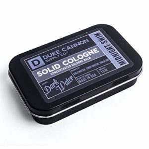 Duke Cannon Supply Co. Men's Solid Cologne, 1.5oz. – Midnight Swim (Dark Water Scent)