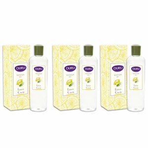 Duru Cologne 400 ml – Lemon – Pack of 3 (13.52 Ounce)