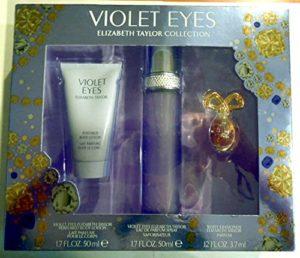 Women's Violet Eyes by Elizabeth Taylor Fragrance Gift Set – 3 pc