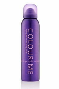 Colour Me | Purple | Body Spray Mist | Womens Fragrance | Chypre Fruity Scent | 5.1 oz