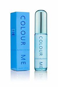 Colour Me | Sky Blue | Parfum de Toilette | Perfume Spray | Womens Fragrance | Chypre Floral Scent | 1.7 oz