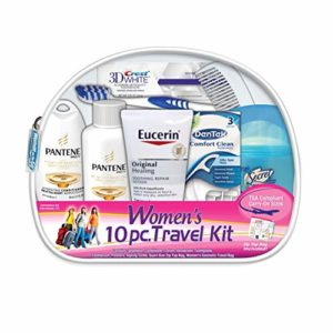 Convenience Kits Women's Pantene Deluxe 9-Piece Travel Kit