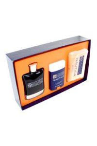 LATITUDE LONGITUDE by Nautica Gift Set — 3.4 oz Eau De Toilette Spray + 10 oz Soap + 2 oz Deodorant Stick for Men