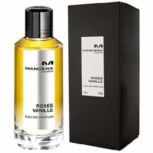 MANCERA Eau de Parfum Spray, Roses Vanille, 4 Fl Oz