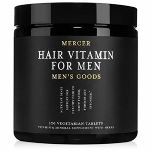 Mercer Men's Goods: Hair Vitamin for Men