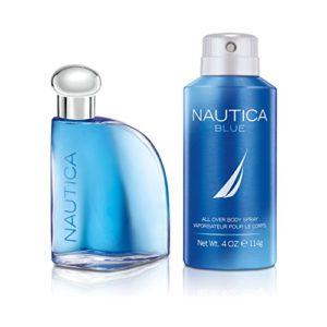 Nautica Blue 2pc set – 1.7oz Eau de Toilette + 4.0oz DBS