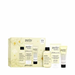 philosophy purity made simple 3 piece giftset, 6 fl. oz.