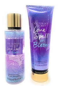 Victoria's Secret Love Spell In Bloom Body Mist and Fragrance Lotion Limited Edition Bundle