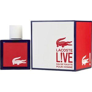 Łacośte Live Pour Hømme for Men Eau de Toilette 3.3 fl. Oz
