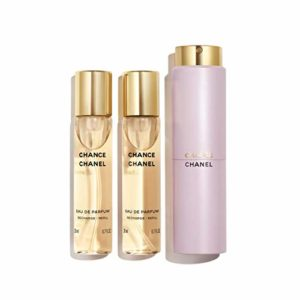 CHANCE EAU DE PARFUM TWIST AND SPRAY 3 X 0.7 FL OZ