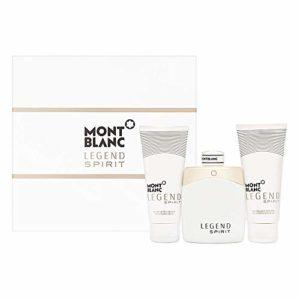 Lêgend Spïrīt Gift Set – 3.3 oz Eau De Toilette Spray + 3.3 oz After Shave Balm + 3.3 oz Shower Gel